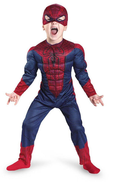 Toddler Amazing Spider-Man Muscle Costume
