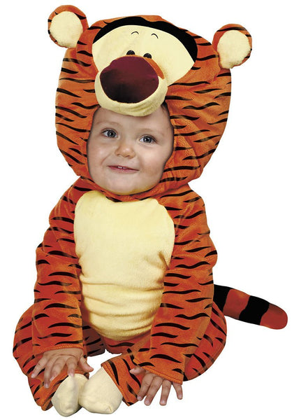 Toddler Tigger Plush Costume