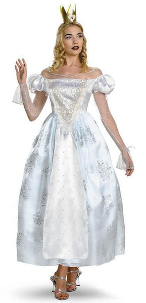 Adult White Queen Deluxe Costume