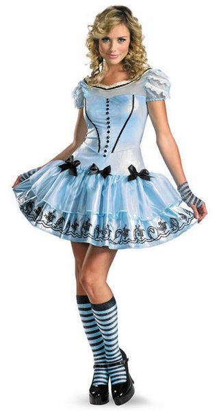 Adult Sassy Alice in Wonderland Costume