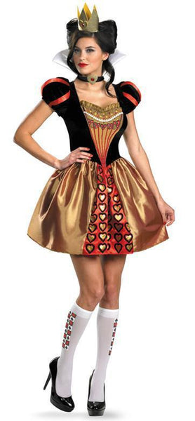 Adult Sassy Red Queen Costume