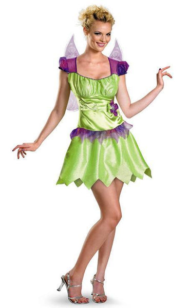 Adult Tinkerbell Rainbow Costume