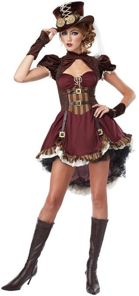 Teen Steampunk Girl Costume