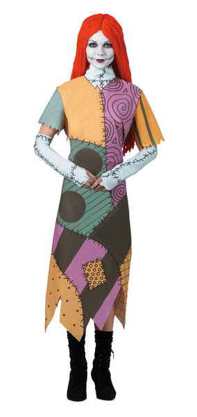 Adult Nightmare Before Christmas Sally Costume