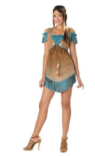 Teen Native Costume