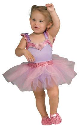 Lovely Lavender Ballerina Toddler Costume