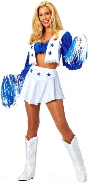 Adult Dallas Cowboy Cheerleader Costume