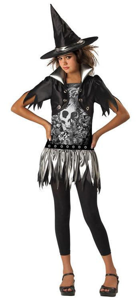 Tween Gothic Witch Costume