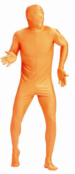 Adult Orange Invisible Man Costume