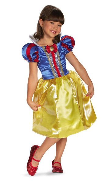 Kids Snow White Sparkle Costume