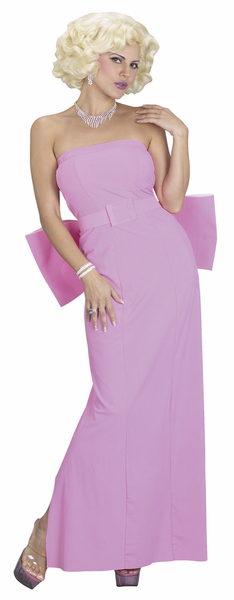 Adult Marilyn Monroe Costume - Pink Glamour Dress