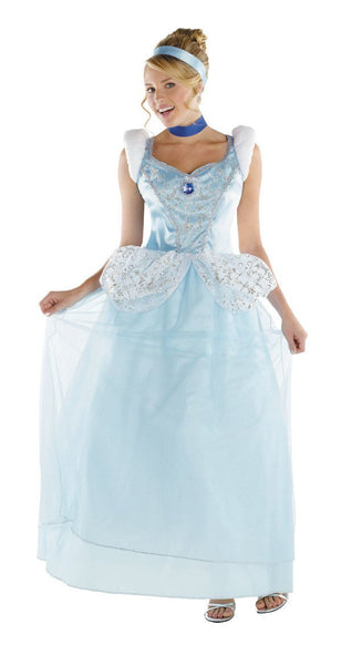 Adult Princess Cinderella Deluxe Costume