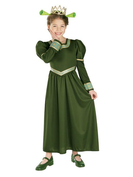 Child Princess Fiona Costume