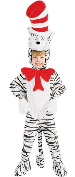 Kids The Cat In The Hat Striped Costume