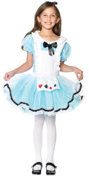 Kids Adorable Alice in Wonderland Costume