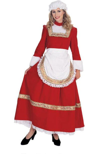 Classic Old Time Mrs. Santa Costume