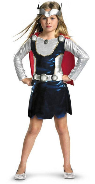 Kids Thor Girl Costume