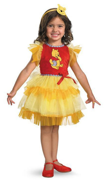 Kids Frilly Winnie the Pooh Costume