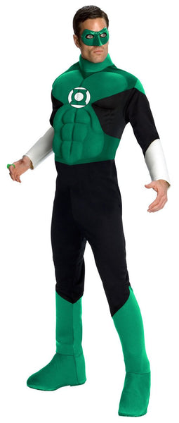 Adult Green Lantern Deluxe Muscle Costume