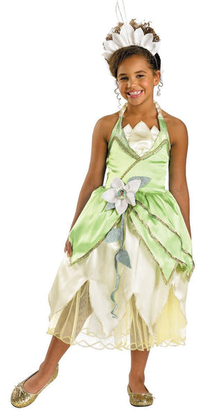 Kids Princess Tiana Deluxe Costume