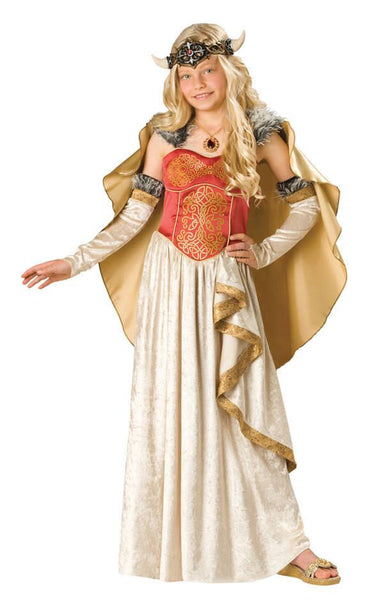 Kids Viking Princess Costume
