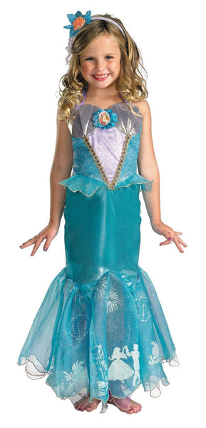 Kids Storybook Princess Ariel Costume - Prestige