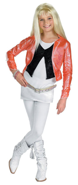 Kids Hannah Montana Costume - Deluxe Pink jacket& Wig