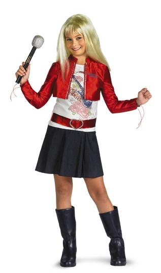 Kids Hannah Montana Costume - Quality jacket& Wig