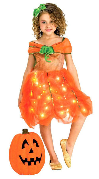 Kids Pumpkin Princess Costume
