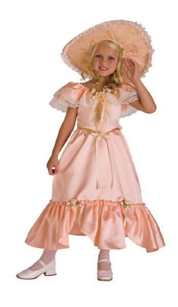 Kids Peach Southern Belle Costume