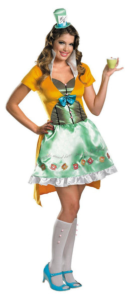 Adult Green Mad Hatter Costume