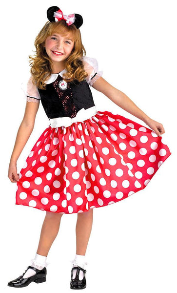 Kids Minnie Mouse Costume DI-5036