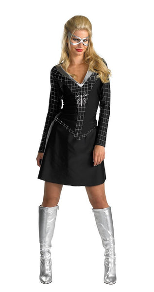 Adult Black-Suited Spider-Girl Costume