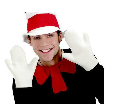 Adult Cat In The Hat Gloves
