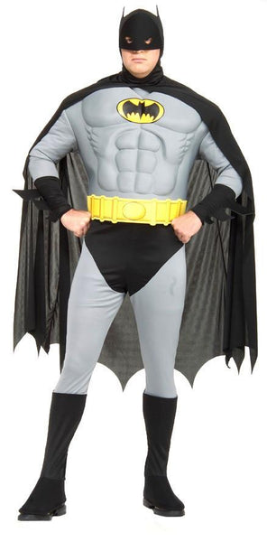 Adult Plus Batman Costume - Super Deluxe