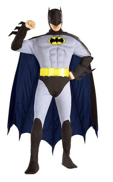 Adult Batman Muscle Chest Costume