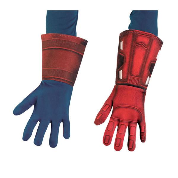 Kids Captain America Deluxe Gloves
