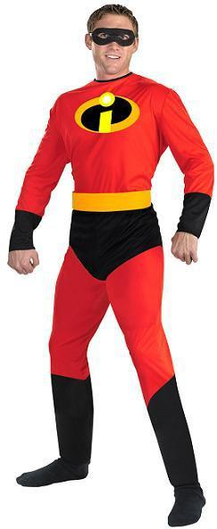 Adult Mr. Incredible Costume