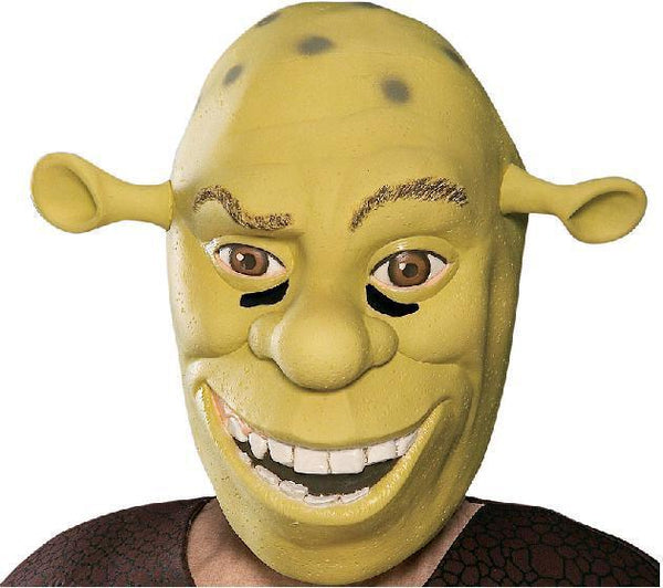 Adult Shrek Vinyl Mask