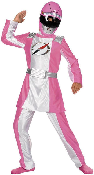 Kids Pink Power Ranger Deluxe Costume