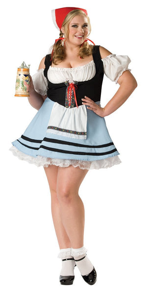 Plus Size Oktoberfest Girl Costume