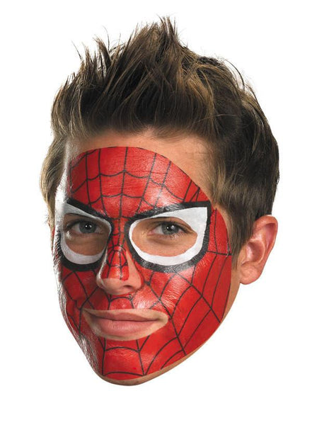 Adult Spider-Man Face Tattoo