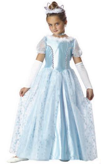 Kids Princess Cinderella Costume
