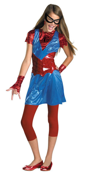 Tween Spider-Girl Costume