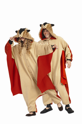 Adult Skippy Flying Squirrel Costume