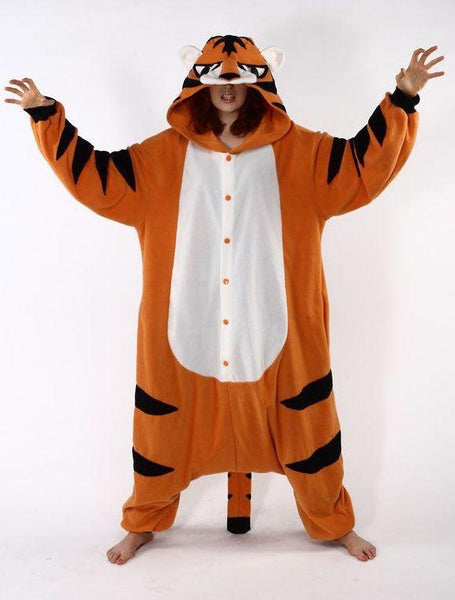 Adult Orange Tiger Costume