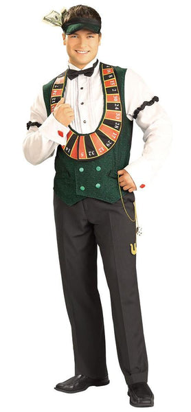 Adult Card Dealer Costume