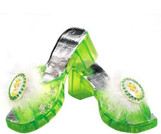 Tinkerbell Jelly Shoes