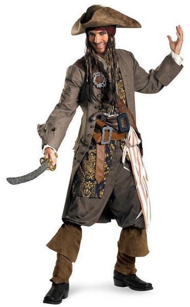 Adult Jack Sparrow Theatrical Costume