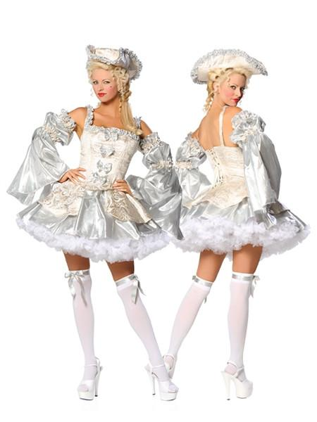 Adult Marie Antoinette Silver Costume